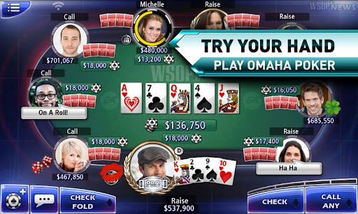 World Series of Poker, un jeu de poker authentique sur Android
