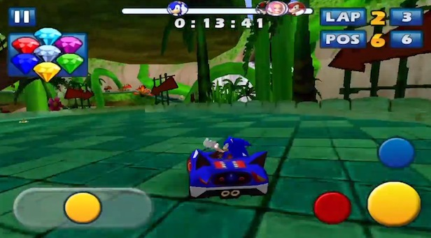 Sonic & Sega All-Stars Racing enfin sur Android